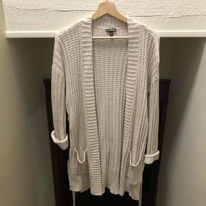 Oversized Express Lace Up sweater